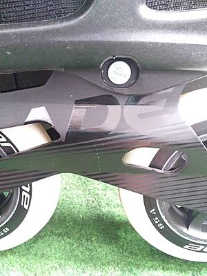 Rollerblade Macroblade 110W 3WD Black/Light Green 39