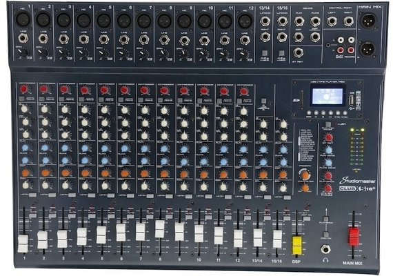 Studiomaster Club XS 16+