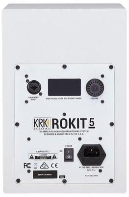 KRK Rokit 5 G4 White