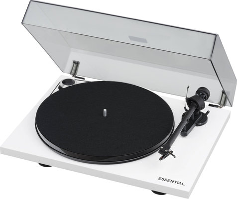 Pro-Ject Essential III OM 10 High Gloss White