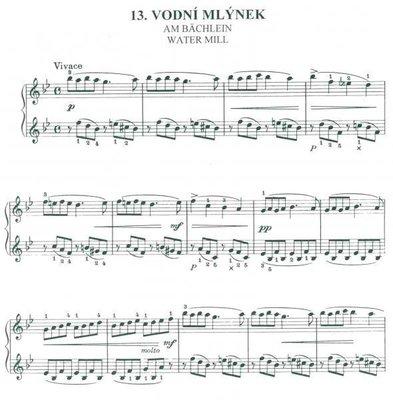 Petr Eben Svět malých (20 drobných skladeb pro klavír)