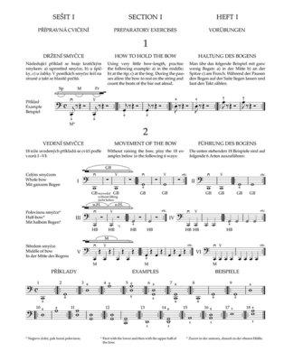 Otakar Ševčík Škola smyčcové techniky pro violoncello op. 2, sešit I a II