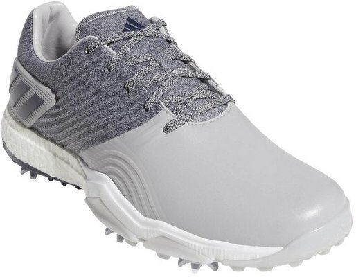 Adidas Adipower 4Orged Mens Golf Shoes Grey 2/Collegiate Navy/Raw White UK 10