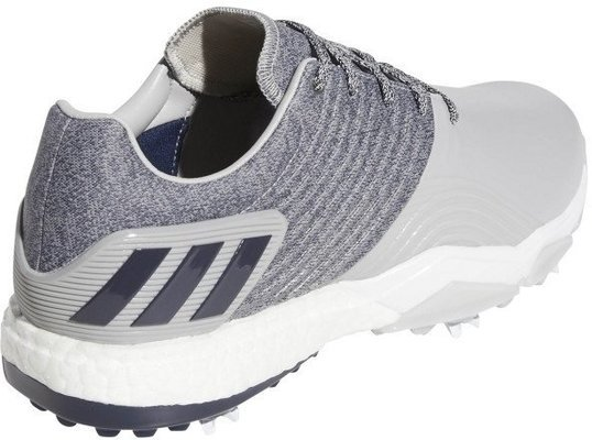 Adidas Adipower 4Orged Mens Golf Shoes Grey 2/Collegiate Navy/Raw White UK 8,5