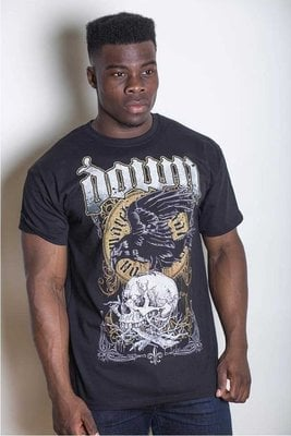 Down Unisex Tee Swamp Skull XL