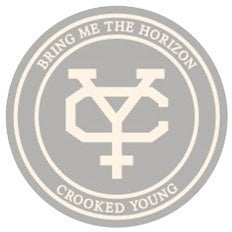 Bring Me The Horizon Unisex Fashion Tee Crooked Young (Applique Motifs) L