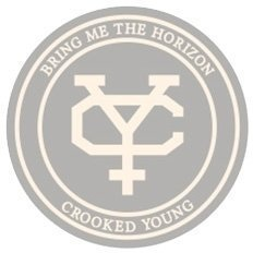 Bring Me The Horizon Unisex Fashion Tee Crooked Young (Applique Motifs) XXL