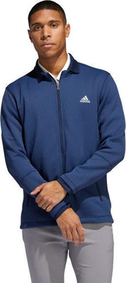 Adidas Climaheat Fleece Mens Jacket Collegiate Navy L