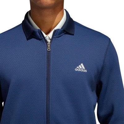 Adidas Climaheat Fleece Mens Jacket Collegiate Navy 2XL