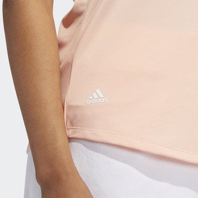 Adidas Ultimate365 Womens Polo Shirt Glow Pink L
