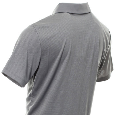 Adidas Climachill Core Heather Mens Polo Shirt Grey Heathered M
