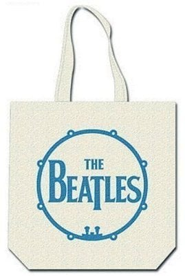 The Beatles Cotton Tote Bag Get Back (with zip top)