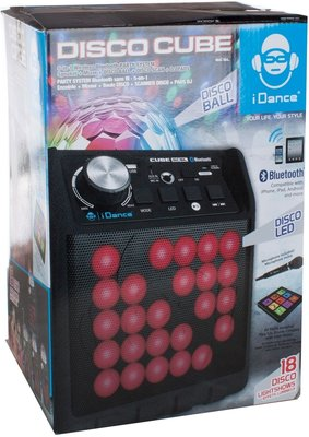 iDance Disco Cube BC5L Black