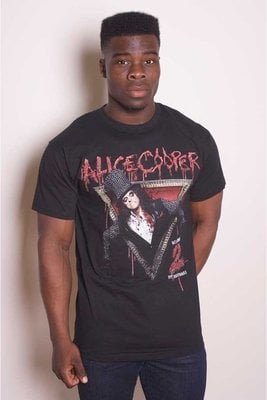 Alice Cooper Unisex Tee: Welcome to my Nightmare L