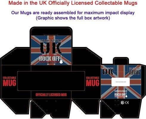 AC/DC Boxed Standard Mug Flick Of The Switch UK