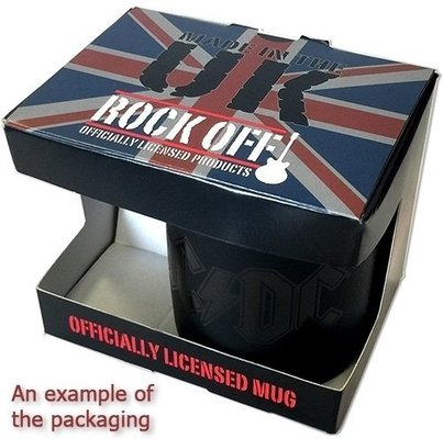 AC/DC Boxed Standard Mug Flick Of The Switch UK