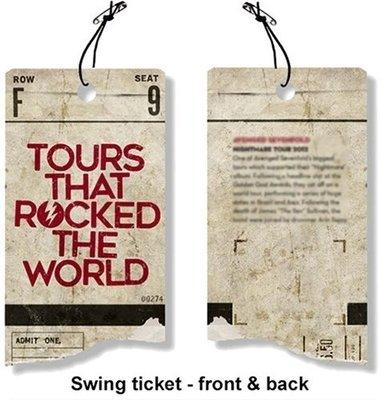 AC/DC Highway to Hell World Tour 1979/1981 Hudební tričko