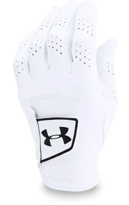Under Armour Spieth Tour Mens Golf Glove White Right Hand for Left Handed Golfers M