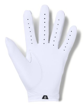 Under Armour Spieth Tour Mens Golf Glove White Left Hand for Right Handed Golfers M