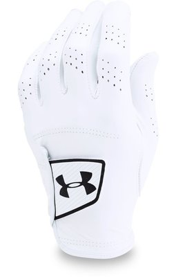 Under Armour Spieth Tour Mens Golf Glove White Left Hand for Right Handed Golfers L Cadet