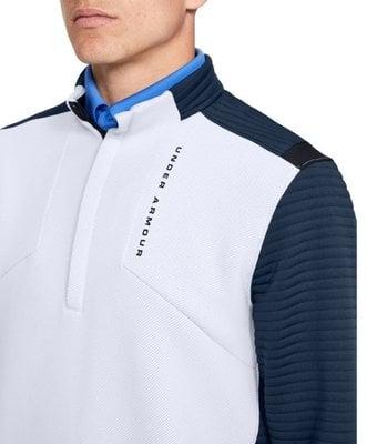 Under Armour Storm Daytona 1/2 Zip Mens Sweater Moonstone Blue S