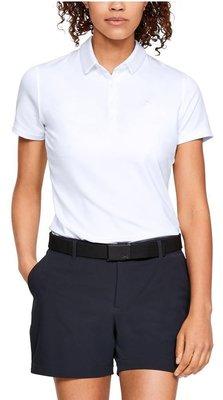 Under Armour Zinger Short Sleeve Womens Polo Shirt White 2XL