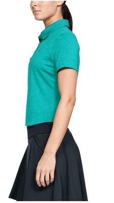 Under Armour Zinger Short Sleeve Womens Polo Shirt Breathtaking Blue XS
