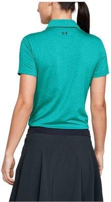 Under Armour Zinger Short Sleeve Womens Polo Shirt Breathtaking Blue XL