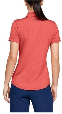 Under Armour Zinger Short Sleeve Womens Polo Shirt Daiquiri M