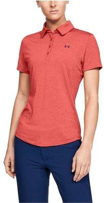 Under Armour Zinger Short Sleeve Womens Polo Shirt Daiquiri XL