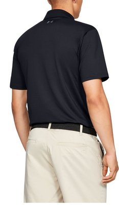Under Armour UA Performance Mens Polo Shirt Black XS