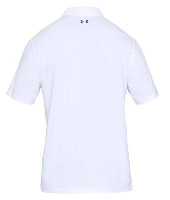 Under Armour UA Performance Mens Polo Shirt White 3XL