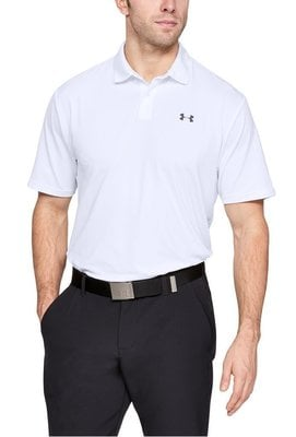 Under Armour UA Performance Mens Polo Shirt White M