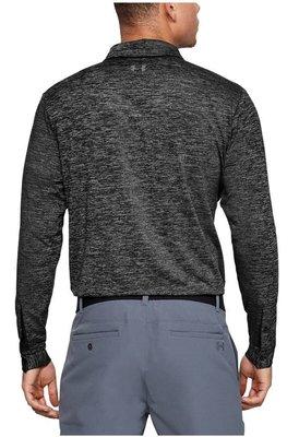 Under Armour UA Long Sleeve Playoff 2.0 Mens Polo Shirt Black M