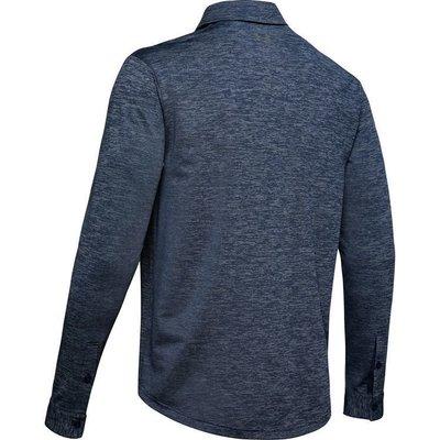 Under Armour UA Long Sleeve Playoff 2.0 Mens Polo Shirt Academy L