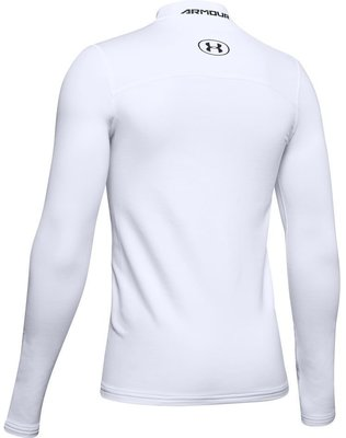 Under Armour ColdGear Armour Mock Junior Base Layer White M