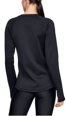 Under Armour UA ColdGear Armour Long Sleeve Womens Sweater Black 2XL