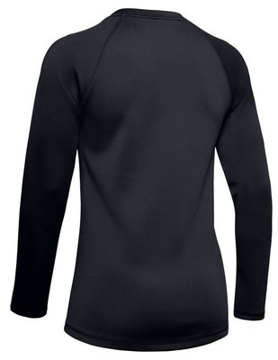 Under Armour UA ColdGear Armour Long Sleeve Womens Sweater Black L
