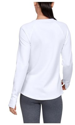 Under Armour UA ColdGear Armour Long Sleeve Womens Sweater White XL