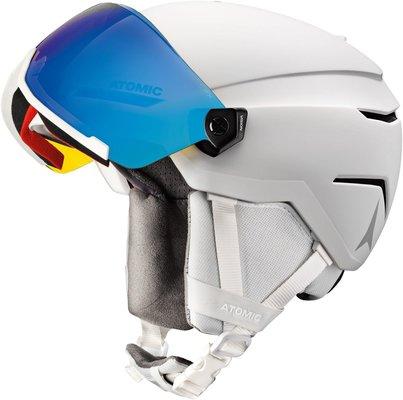 Atomic Savor Visor Stereo Ski Kaciga White Heather S