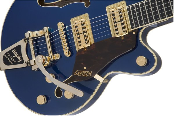 Gretsch G6659TG Players Edition Broadkaster Azure Metallic