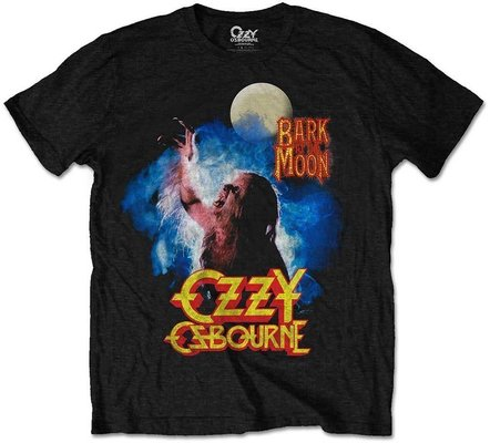 Ozzy Osbourne Unisex Tee Bark At The Moon L