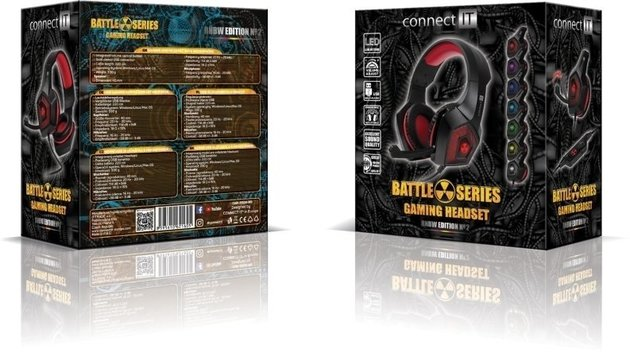 Connect IT Battle Rnbw Ed. 2 CHP-5500-RD Red