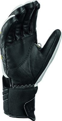 Leki Griffin S Mens Ski Gloves White/Black/Lime 10,5
