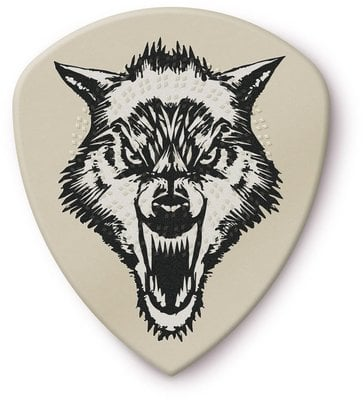 Dunlop James Hetfield White Fang Custom Flow Pick 1.14 6 Pack