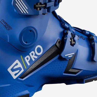 Salomon S/PRO 130 Black/Race Blue/Acid Green 29/29,5 19/20