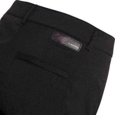 Alberto Lexi-T Rain Wind Fighter Womens Trousers Black 36
