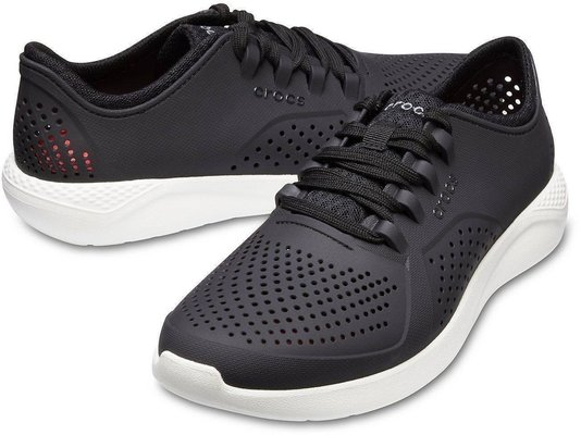Crocs LiteRide Pacer Men's Black/White 45-46
