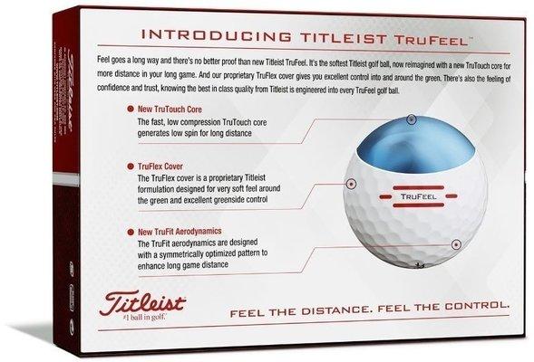 Titleist TruFeel 2019 White