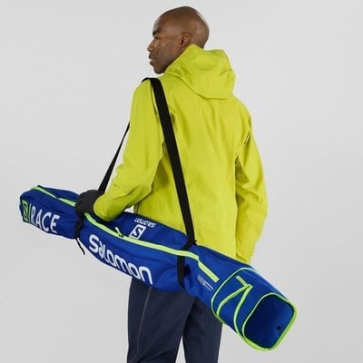 Salomon Extend 1 pair 165+20 Skibag Race Blue/Neon Yellow
